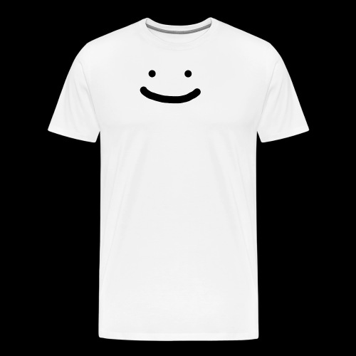 Smile - Koszulka męska Premium