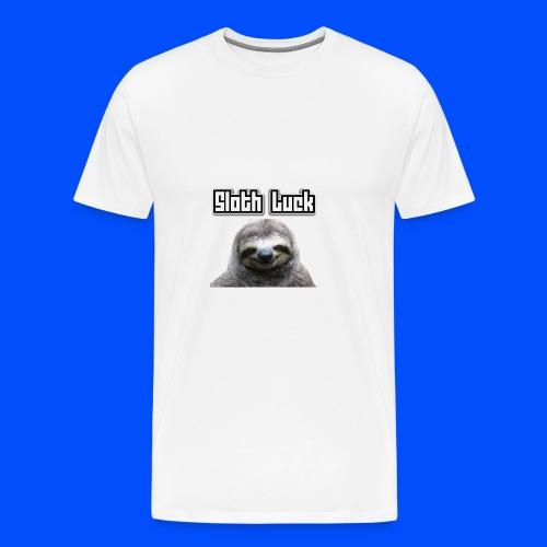 Sloth Luck - Men's Premium T-Shirt