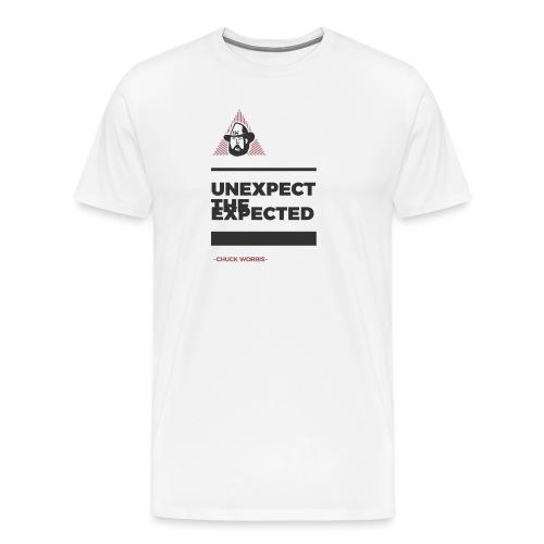 EXPECT THE UNEXPECTED - CHUCK WORRIS - Männer Premium T-Shirt