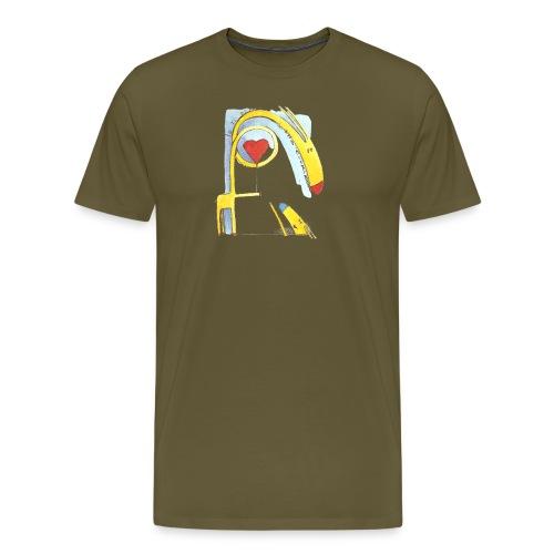 Giraffa innamorata - Maglietta Premium da uomo