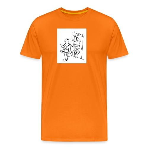 prof da guardia - Maglietta Premium da uomo