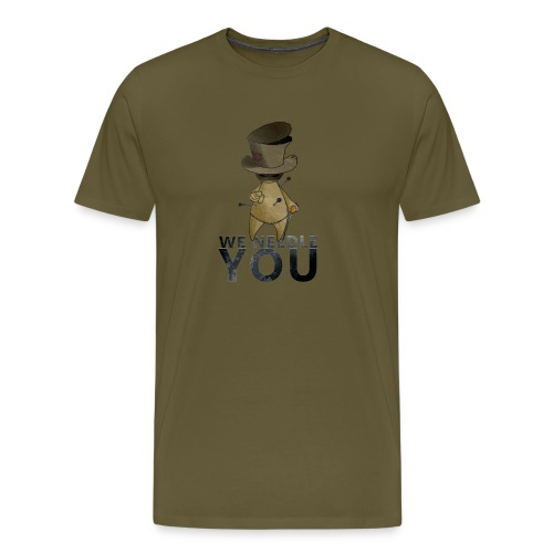 WE NEEDLE YOU - T-shirt Premium Homme