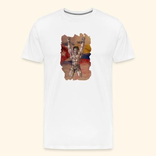 Lucha Fuerza Libertad - Camiseta premium hombre