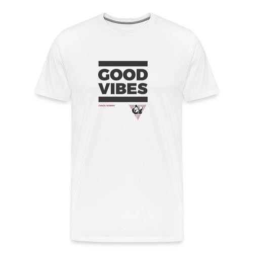 GOOD VIBES - CHUCK WORRIS - - Männer Premium T-Shirt