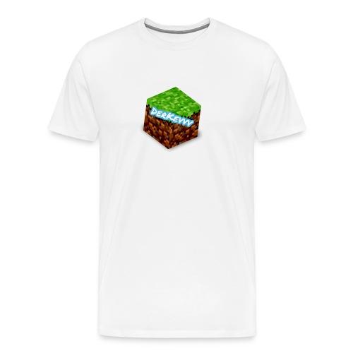 DerKevvv (Gras Block) - Männer Premium T-Shirt