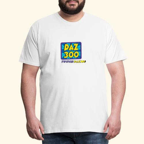 daz logo 2 0 - Men's Premium T-Shirt