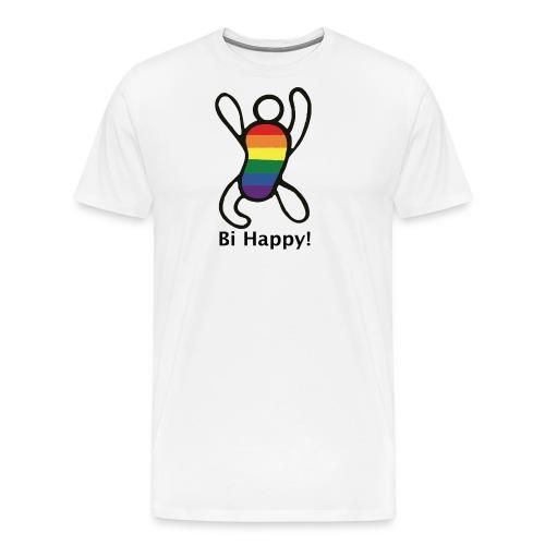 Bi Happy! - Mannen Premium T-shirt