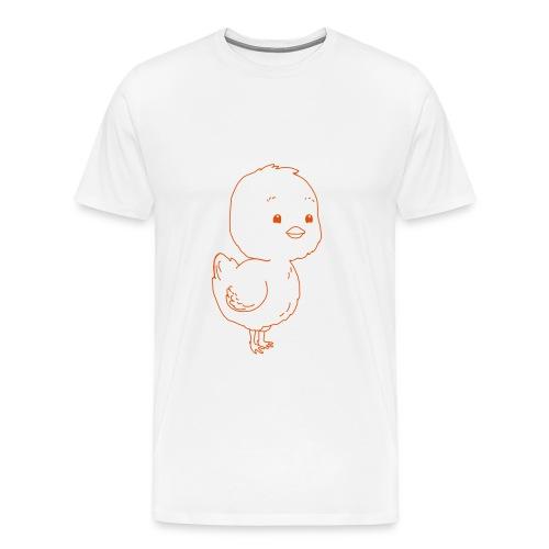 Pulcino - Maglietta Premium da uomo