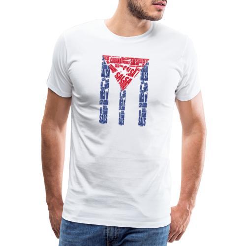 Salsa Cubana - Männer Premium T-Shirt