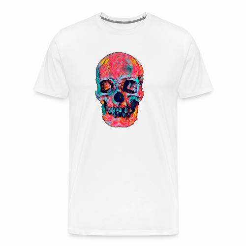 CRANEO COLORIDO - Camiseta premium hombre