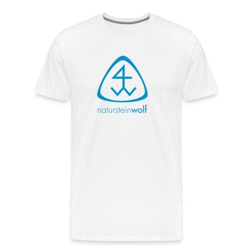 natursteinwolf - Männer Premium T-Shirt