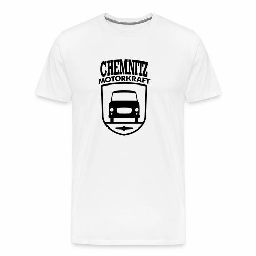 Barkas B1000 Motorkraft Chemnitz coat of arms - Men's Premium T-Shirt