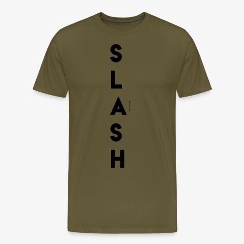 COLLEZIONE / S L A S H / DSN Invernale, verticale - Maglietta Premium da uomo