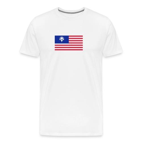 Football T-Shirt USA - Men's Premium T-Shirt