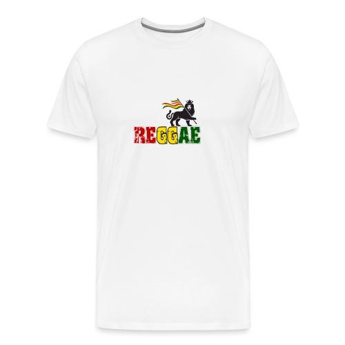 Reggae Lion - Männer Premium T-Shirt