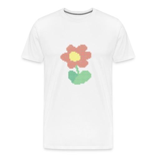 Ellys blomst - Herre premium T-shirt