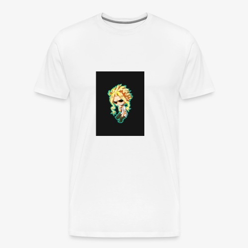 Mug All Might - T-shirt Premium Homme