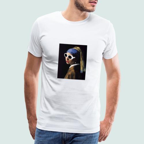 New Meisje Met De Parel - Maglietta Premium da uomo