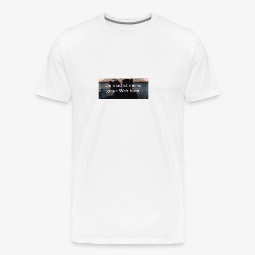 C60B7A98 250D 40B9 AD6C 5B4911E4ED2F - Männer Premium T-Shirt