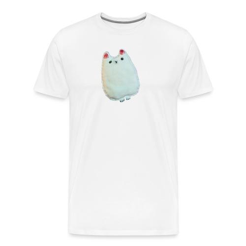 Pluszak kotek - Koszulka męska Premium