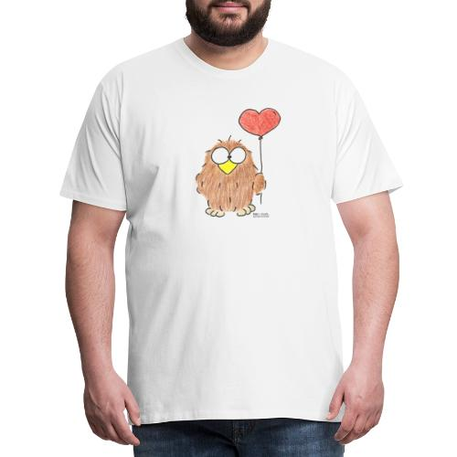 Niki Owl Amor / Amor - Camiseta premium hombre