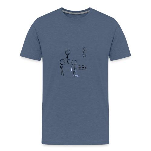 har sei png - Premium T-skjorte for menn