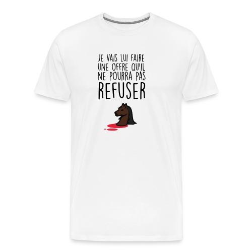 Débardeur homme Le Parrain - T-shirt Premium Homme