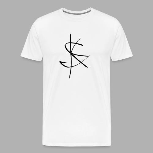 Sprücheklopfer - Logo - Männer Premium T-Shirt
