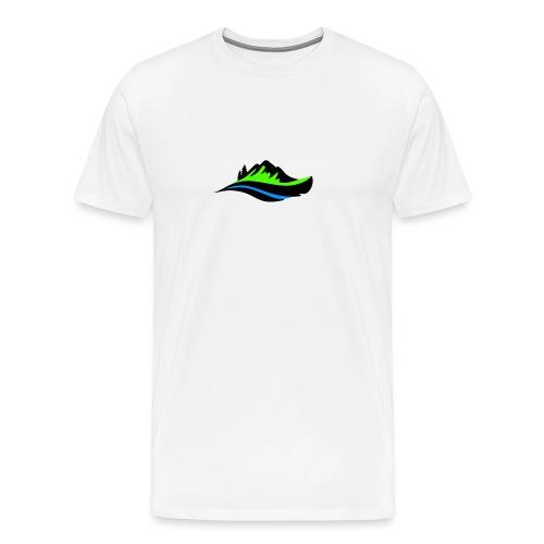 Modern Hoodie Unisex - Premium-T-shirt herr