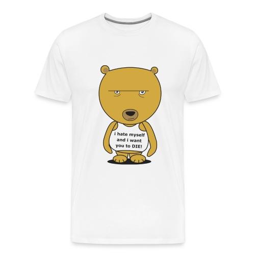 baer Digitalmotiv - Männer Premium T-Shirt