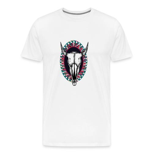 cabeza de animal - Camiseta premium hombre
