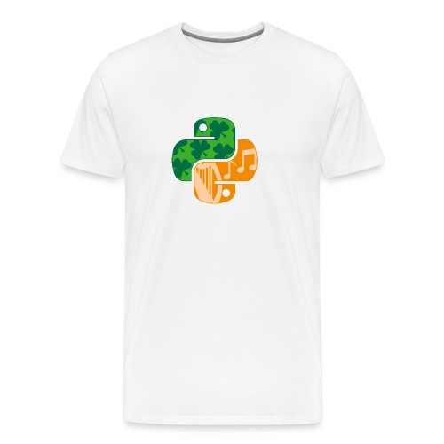 EuroPython 2020 - Color Snakes - Men's Premium T-Shirt