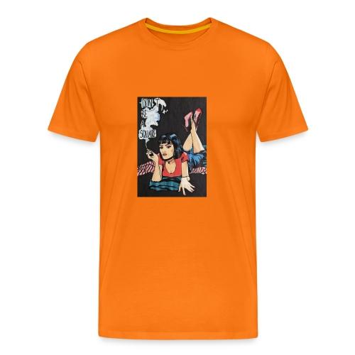 MIA WALLACE DRAWING - Maglietta Premium da uomo