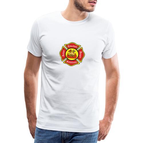 Feuerwehrschild - Männer Premium T-Shirt