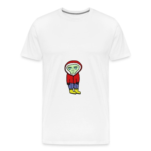 Bored Alien - Männer Premium T-Shirt