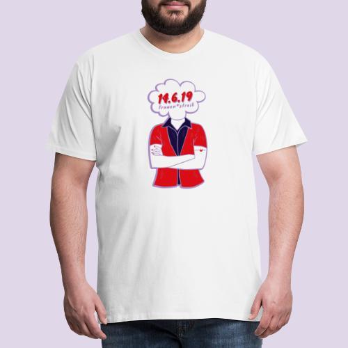 Frauenstreik - Männer Premium T-Shirt