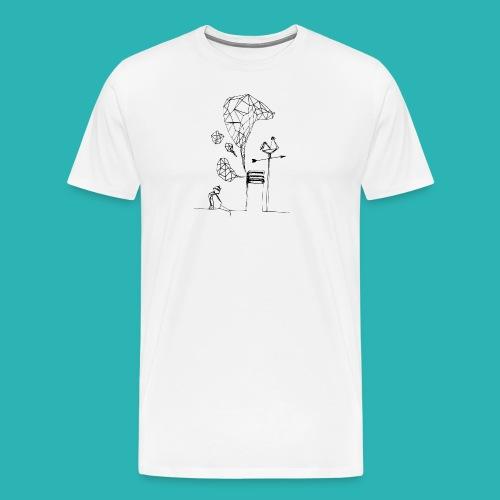 Carta_gatta-png - Maglietta Premium da uomo