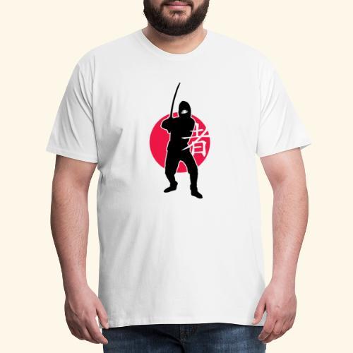 Ninja - Männer Premium T-Shirt