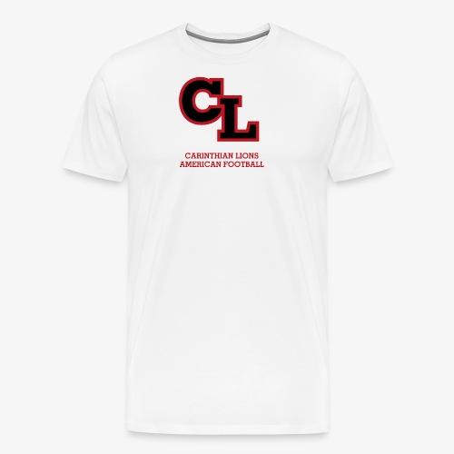 CL Logo02 ROT png - Männer Premium T-Shirt