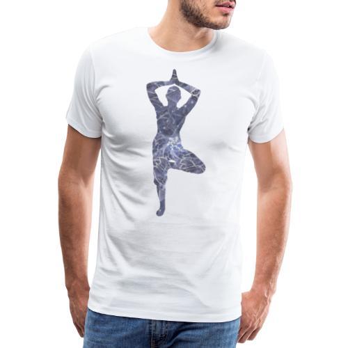 Yoga Baum Asana - Männer Premium T-Shirt