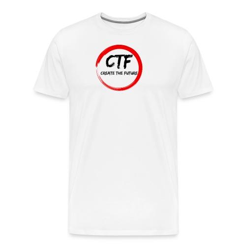 CTF RED/BLACK - Mannen Premium T-shirt