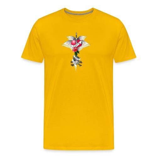 Love kills fast - Liebe tötet schnell - Männer Premium T-Shirt