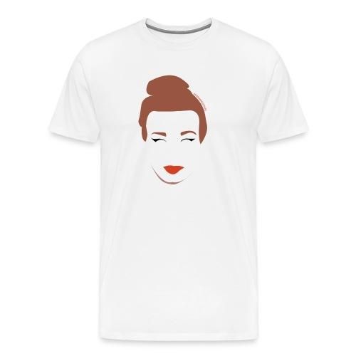 Emma Wagemans basic shirt - Mannen Premium T-shirt