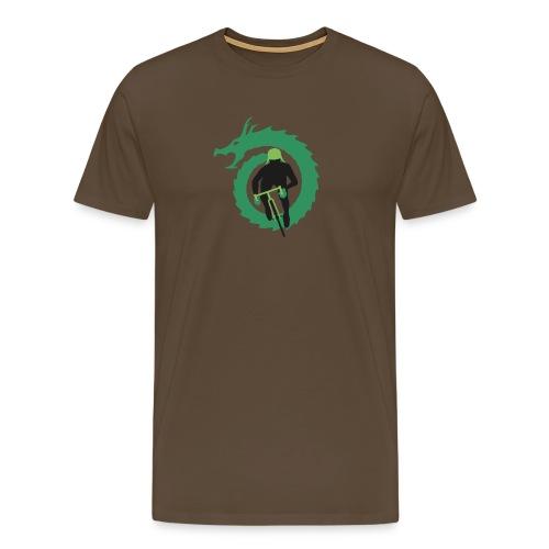 Shirt Green and Green png - Men's Premium T-Shirt
