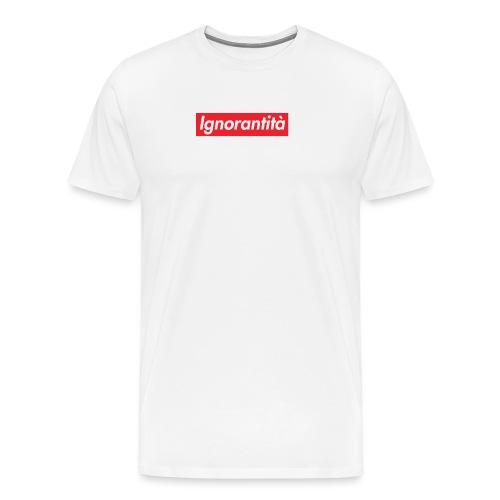 Ignorantità Arena Ignorante - Maglietta Premium da uomo