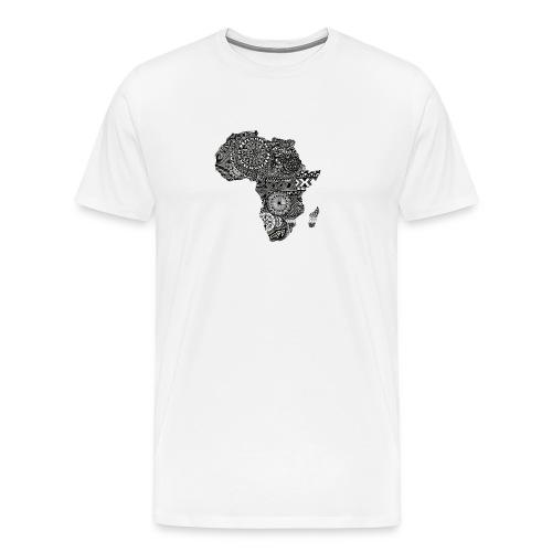 frica png - Men's Premium T-Shirt