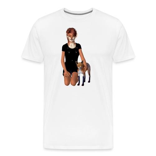 Fox Girl - Männer Premium T-Shirt