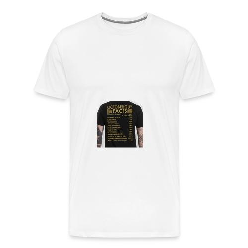 october gyu facts - Men's Premium T-Shirt