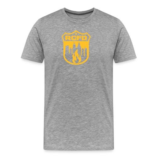 Rising Cities Fire Department Logo - Männer Premium T-Shirt