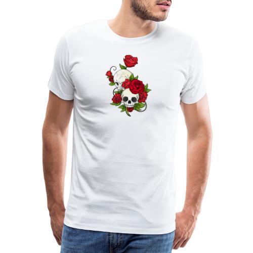 Skulltattoo - Männer Premium T-Shirt